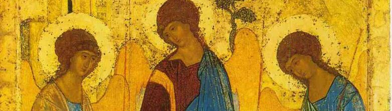 Artist Andrei Rublev's 'The Trinity'